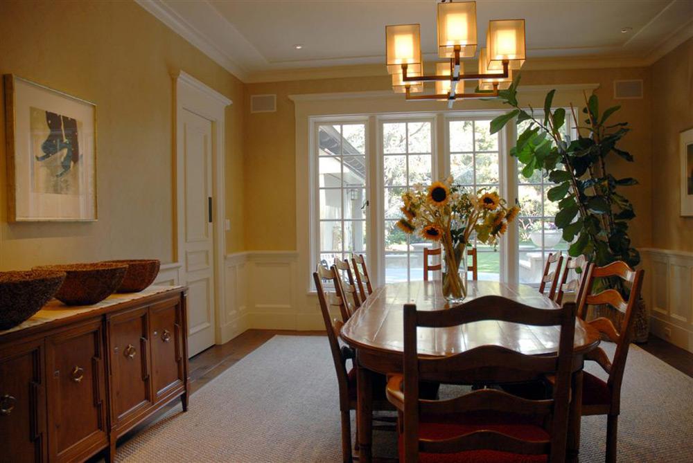 Seddon Construction Company   English Formal Dining Room
