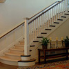 Seddon Construction Company - English Manor entrace hall and stairway landing